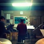 有田川町でバンド練習。
