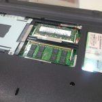 ASUSのノートパソコン『UL20A』のメモリを増設してみた。