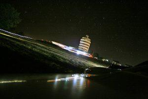 潮岬灯台 夜景